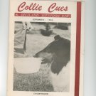 Collie Cues & Shetland Sheepdog News September 1965 Vintage