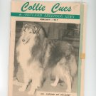 Collie Cues & Shetland Sheepdog News February 1967 Vintage