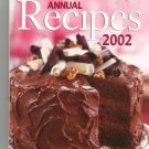 Better Homes And Gardens Annual Recipes 2002 Cookbook 0696214377 BHG