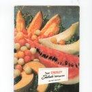 Crosley Shelvador Refrigerator Owners Manual And Recipes Cookbook