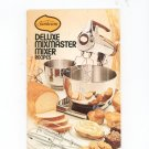 Sunbeam Deluxe Mixmaster Recipes Cookbook Manual 1975 Vintage