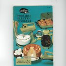 Sunbeam Vista Multi Cooker Frypan Portable Electric Cookery Cookbook Manual Vintage
