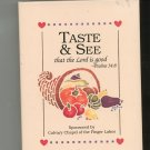 Taste & See Cookbook Church Regional Calvary Chapel New York
