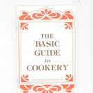 The Basic Guide To Cookery Cookbook Regional New York Rochester Gas & Electric RGE