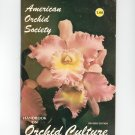 American Orchid Society Handbook Orchid Culture Vintage Revised Edition
