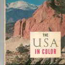 The USA In Color by Editors Of Holiday LOC # 56-5243  565243