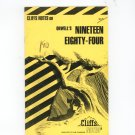 Cliffs Notes Orwells Nineteen Eighty Four 0822008998