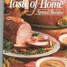 1999 Taste Of Home Annual Recipes Cookbook 0898212391
