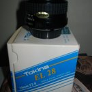 Tokina EL 28 28mm F2.8 Single Focal Length Lens Minolta MD Camera XG SR