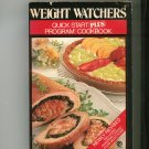 Weight Watchers Quick Start Plus Program Cookbook 0452258316
