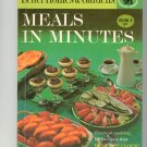 Better Homes & Gardens Meals In Minutes Cookbook Vintage