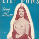 Lily Pons Song Album Frank La Forge Carl Fischer Vintage 03213