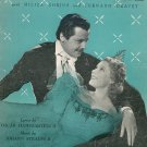 Souvenir Album The Great Waltz Hammerstein II & Strauss II Leo Feist Vintage Sheet Music