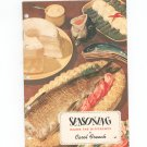 Seasoning Makes The Difference Cookbook by Carol French R T French Company Vintage