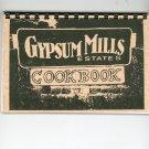 Gypsum Mills Estates Cookbook Regional New York Community