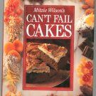 Mitzie Wilsons Cant Fail Cakes Cookbook 1853915467