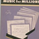 Music For Millions Simplified Piano Pieces Volume 9 J J Robbins Vintage