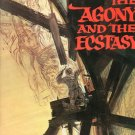 The Agony And The Ecstasy Souvenir Book 20th Century Fox Presents Vintage