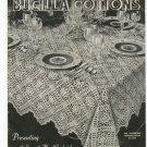 Bucilla Cottons Banquet Cloth Bedspread Creations Volume 106 Vintage Crochet