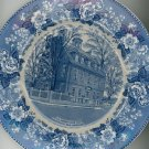 Warner House New Hampshire Souvenir Plate Vintage Royal Staffordshire Pottery England
