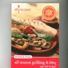 Tried & True All Season Grilling & BBQ Top 200 Recipes Cookbook 0971172366