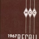 MCC 1967 Recall Year Book Yearbook Monroe Community College Vintage New York Rochester