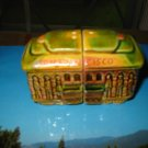 Cable Car San Francisco Salt and Pepper Shaker Souvenir