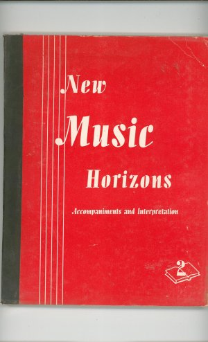 New Music Horizons Book 2 Accompaniments & Interpretation Vintage Silver Burdett Company