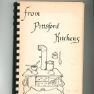 From Pittsford Kitchens Cookbook Regional Vintage New York Welcome Wagon