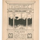 Vindex Elmira Free Academy November 1918 Regional New York Advertisements
