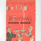 The New Cooks Cook Book Cookbook Plus Vintage Edison Electric Institute