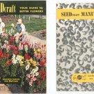 Seed Craft Vintage Flower Catalog Plus Manual Geo J Ball  Seedcraft Beauty