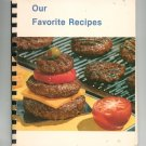 Our Favorite Recipes Cookbook Regional Church New York