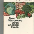 Amana Radarange New Microwave Oven Cooking Guide Cookbook Vintage Part # A32031-1