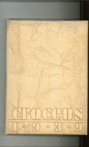 Croceus 1939 Year Book Yearbook University Rochester New York Advertisements