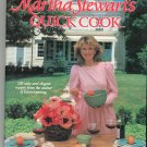 Martha Stewart Quick Cook Cookbook 0517550962