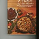I Cook As I Please Cookbook by Nika Hazelton 0448010240 First Printing