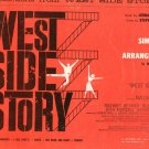 West Side Story Simplified Piano Arrangements by William Stickles Vintage