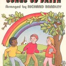 Basic Bradley Songs Of Faith by Richard Bradley Music Book Piano