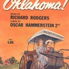 Vocal Selection From Oklahoma Music Book Vintage