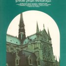 Kimball Sacred Sounds Music Book Vintage Organ