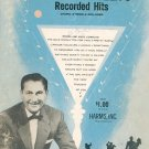Song Collection Of Lawrence Welks Recorded Hits Music Book Vintage Organ