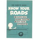 For Safetys Sake Know Your Roads Brochure Vintage Scriptograph by Channing L Bete Co. Inc.