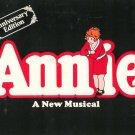 Annie A New Musical Souvenir Anniversary Edition