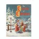 Lot Of 2 Christmas Carols & The Carols Of Christmas Vintage Advertising