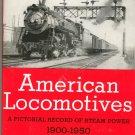 American Locomotives Pictorial Record Steam Edwin P Alexander 0517014238