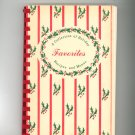 A Collection Of Holiday Favorites Cookbook by Mary Bevilacqua & Laurel Gabel