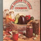 The Garden To Table Cookbook 0070237158 Vintage