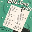 Your Big Song Folio Complete Songs Words & Music Mills Music Vintage