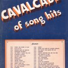 Cavalcade Of Song Hits Music Words and Music Complete  Leo Feist Vintage